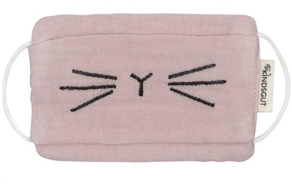Kindsgut-moshato-pamut-szajmaszk-gyerekeknek-pink-Mia
